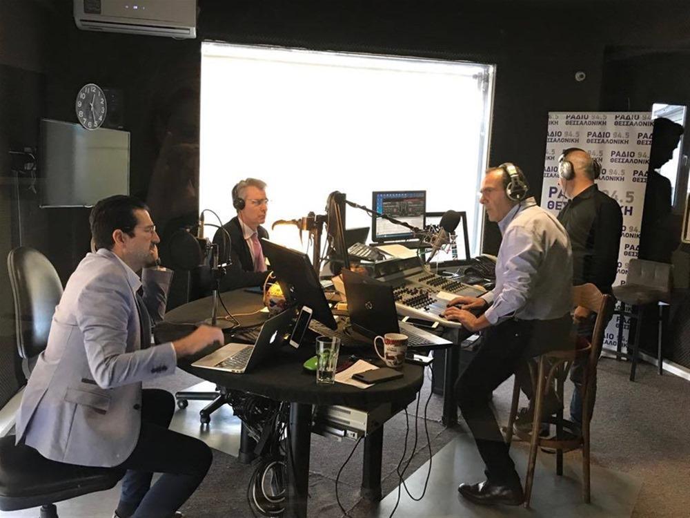 Τζ. Πάιατ στο Ράδιο Θεσσαλονίκη: «Στρατηγική σχέση επένδυσης με την Ελλάδα»