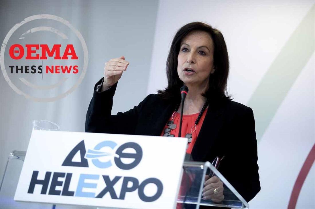 Άννα Διαμαντοπούλου στην ThessNews: «Πολιτικό τζάκι η Γεννηματά»