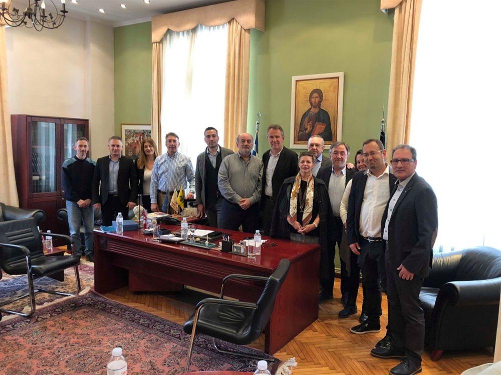 Βούγιας: Αναγκαία η στενή συνεργασία δήμου και επαγγελματιών της πόλης
