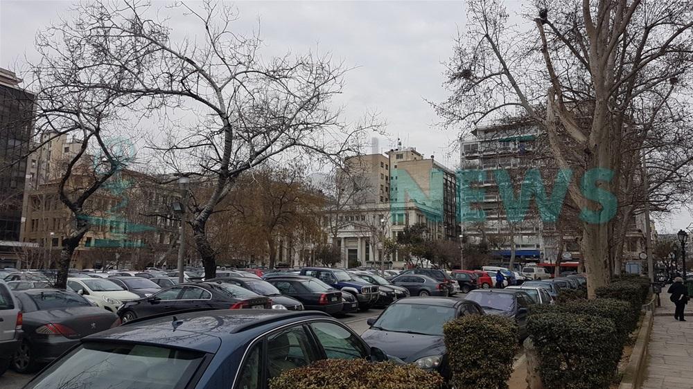 Θεσσαλονίκη: Απομακρύνονται οι λαμαρίνες από την πλατεία Ελευθερίας και γίνεται υπόγειο πάρκινγκ (VIDEO)