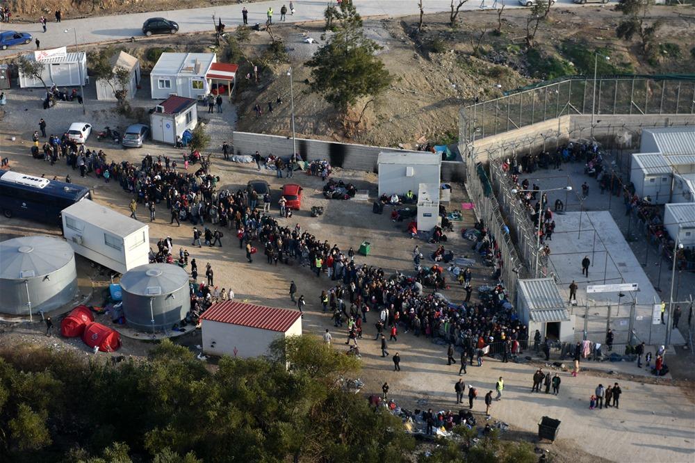 2.500 πρόσφυγες σε ένα μήνα