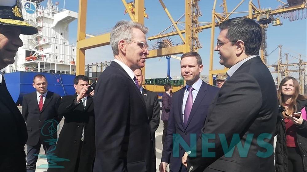 Τι λένε Αβραμόπουλος – Ζαριανόπουλος για την επίσκεψη Πάιατ στο λιμάνι της Θεσσαλονίκης