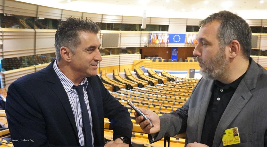Θ. Ζαγοράκης στην ThessNews: «Φορώ πάντα τη φανέλα της εθνικής»