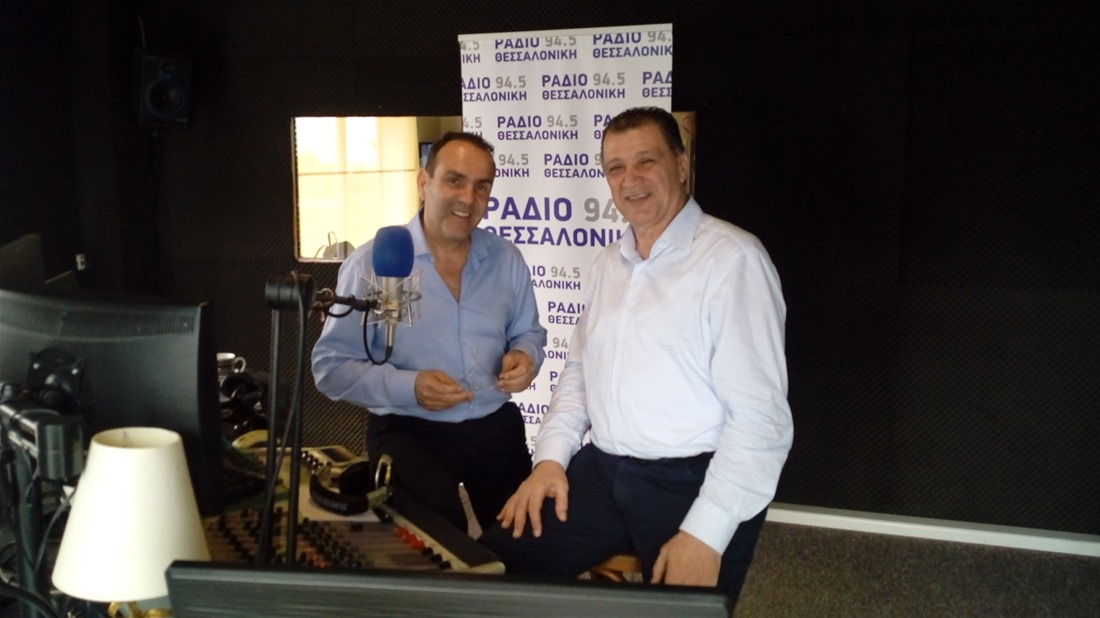 Γιώργος Ορφανός στο Ράδιο Θεσσαλονίκη: «Συνεργασίες πριν τις εκλογές – Ο Ψωμιάδης δεν ψήνεται εύκολα»