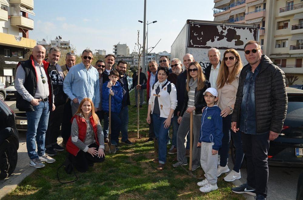 Δενδροφύτευση από τον συνδυασμό «Θεσσαλονίκη- Υπεύθυνα»