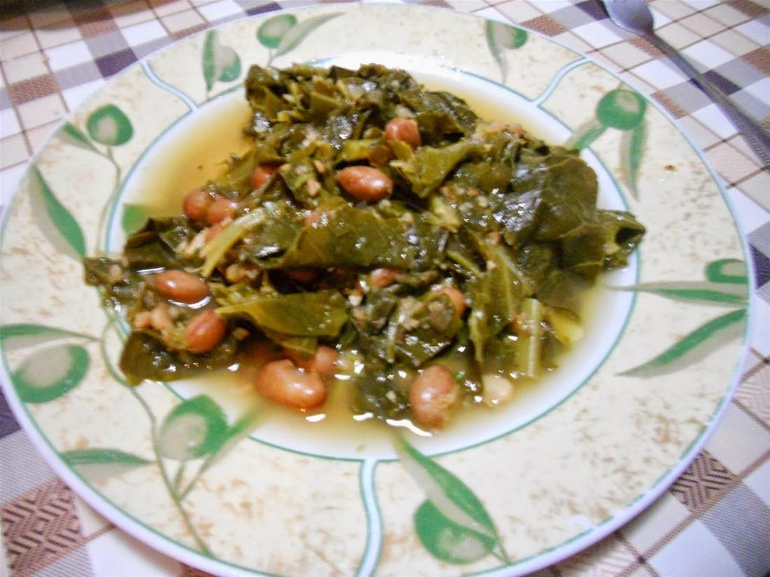 Λάχανα με τα φασούλια (Ποντιακή συνταγή)