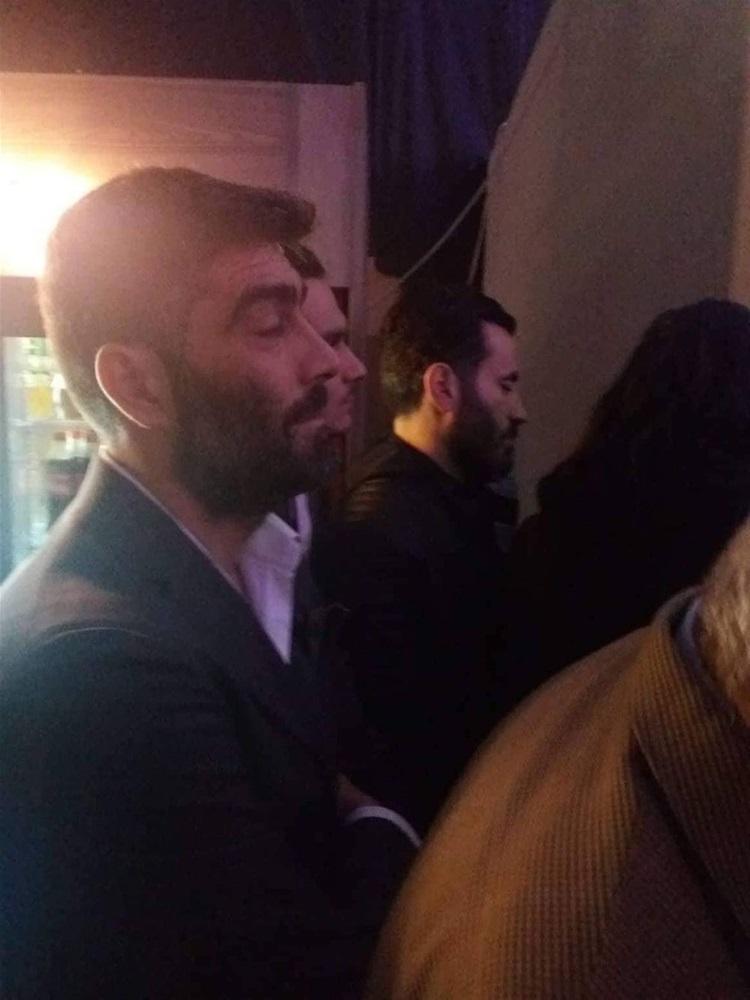 Ο Γιώργος Μαυρίδης στην «πρώτη» της Κατερίνας Νοτοπούλου (ΦΩΤΟ)