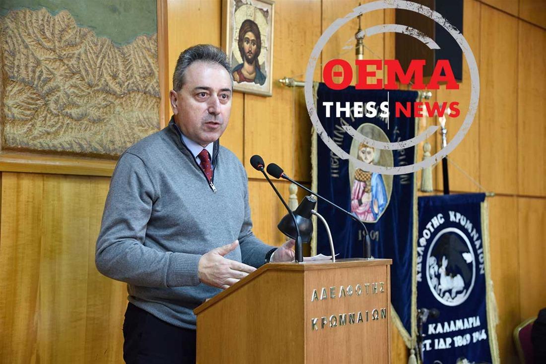 Θ. Μπακογλίδης στην ThessNews: Ανοιχτός ο κύκλος μου στην αυτοδιοίκηση