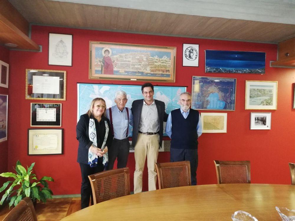 Συνάντηση του υποψηφίου δημάρχου Γρ. Ζαρωτιάδη με τον Γ. Μπουτάρη