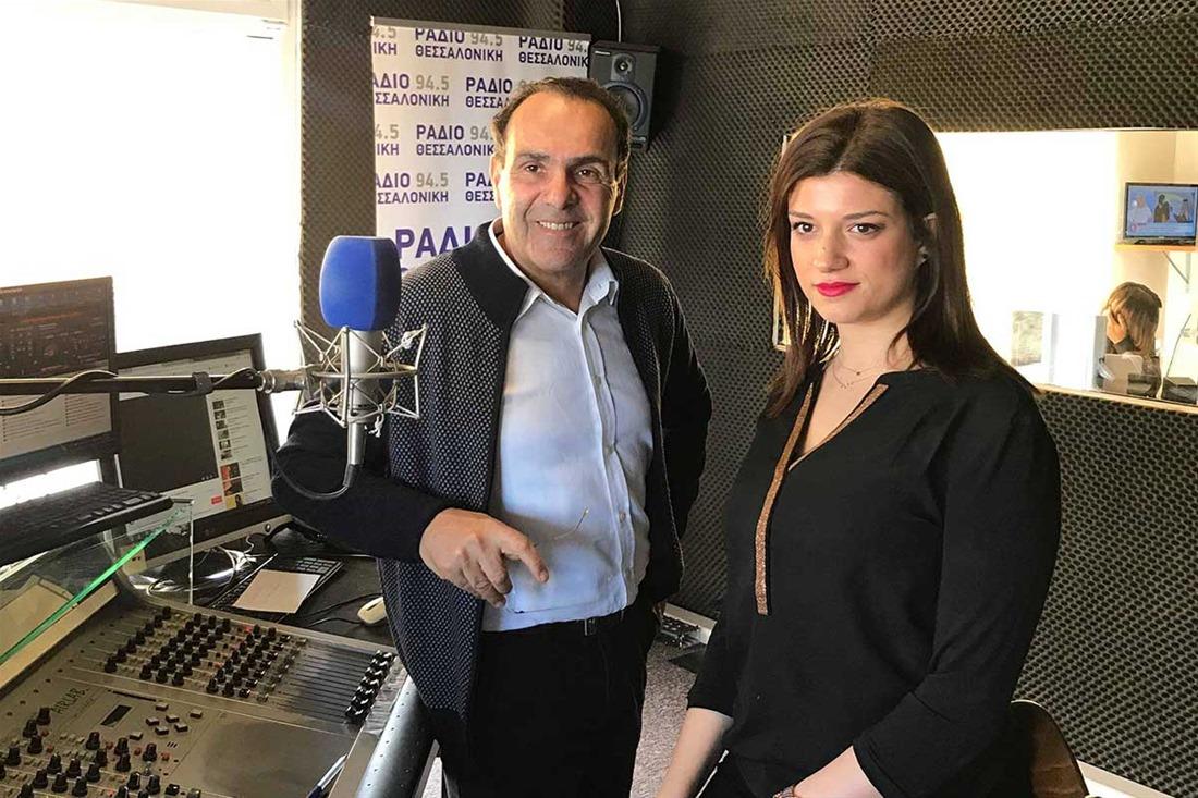 Κ. Νοτοπούλου στο Ράδιο Θεσσαλονίκη: Δεν δυσκολεύομαι να πω «Βόρεια Μακεδονία» – Δεν συμπαθώ τα τραπεζοκαθίσματα – Όχι ιδιώτες στην Καθαριότητα (audio)