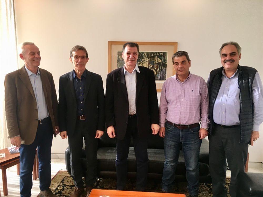 Συνάντηση Γ. Ορφανού με τη διοίκηση της ΔΕΘ Helexpo