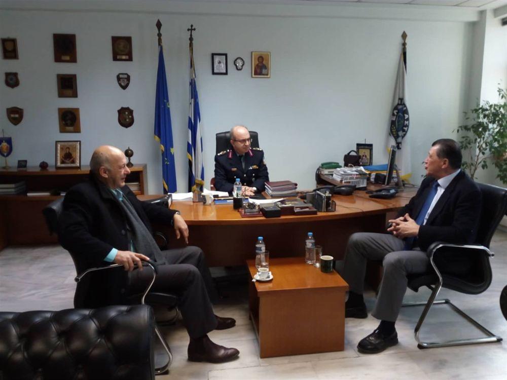 Γ. Ορφανός: Συνεργασία για την ασφάλεια του πολίτη
