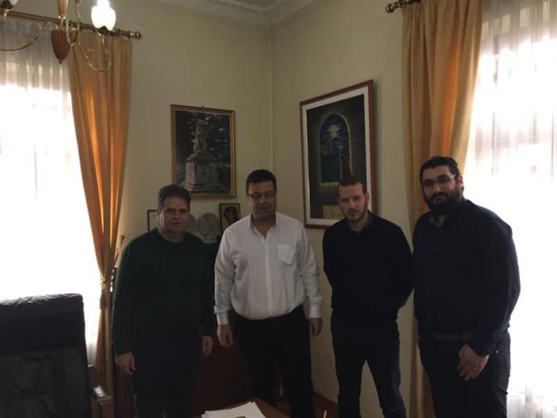 Ο Χρήστος Παπαστεργίου επισκέφθηκε τον δήμο Αμφίπολης