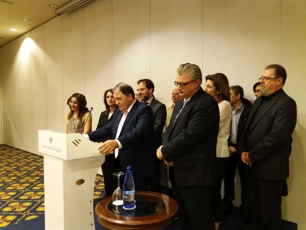 Κοσμοσυρροή στην εκδήλωση για την υποψηφιότητα Περβανά στις Ευρωεκλογές 2019