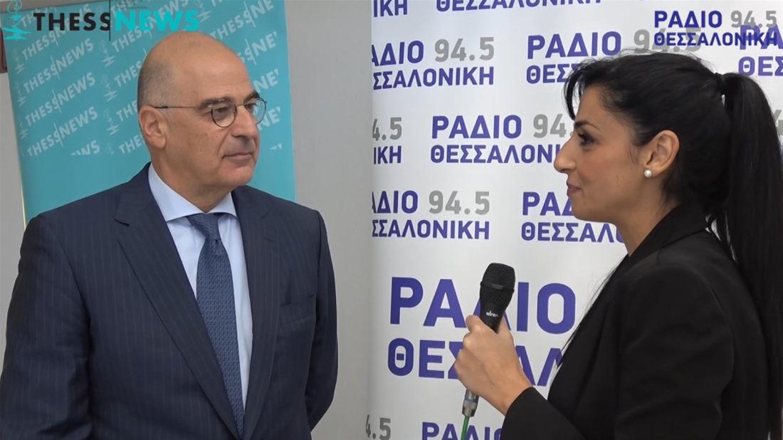 Ν. Δένδιας στην ThessNews: «Η κυβέρνηση θυμάται την συναίνεση όταν βρίσκεται μπροστά σε τοίχο» (video)