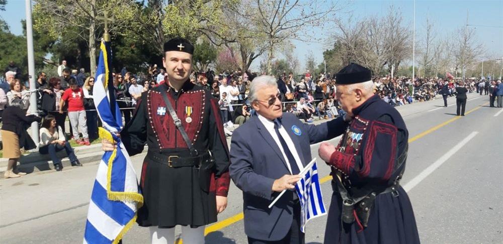Ψωμιάδης για παρέλαση 25ης Μαρτίου: Ξεκάθαρο μήνυμα πως ο Μακεδονικός Αγώνας συνεχίζεται