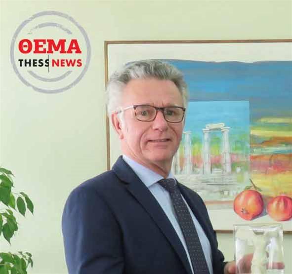 Philippe Ray στην ThessNews: Ο εκσυγχρονισμός του λιμανιού θα ωφελήσει την πόλη