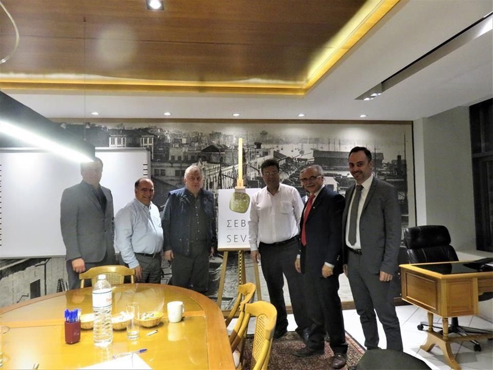 Συνάντηση στα γραφεία του ΣΕΒΕ πραγματοποίησε Χρήστος Παπαστεργίου