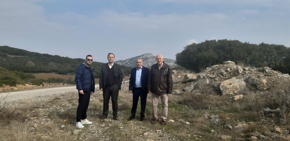 Ενημερωτικές συναντήσεις για τη λειτουργία του νέου λατομείου στον δήμο Ωραιοκάστρου ξεκινά ο Σκαρλάτος