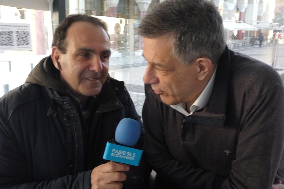 Ν. Ταχιάος στο Ράδιο Θεσσαλονίκη: Ρουσφετάκια και επιχορηγήσεις από Νοτοπούλου