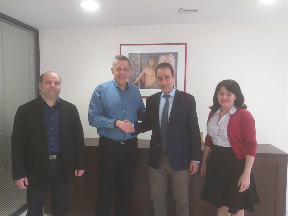 Επίσκεψη Νίκου Ταχιάου στον Ιατρικό Σύλλογο Θεσσαλονίκης