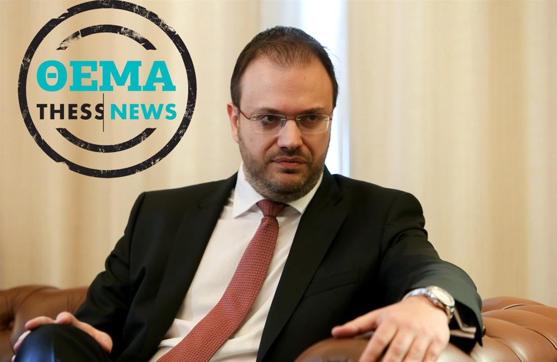 Θ. Θεοχαρόπουλος στην ThessNews: «Κυβερνητική προπαγάνδα»