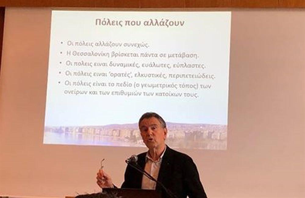 Νέους υποψηφίους παρουσίασε ο Σ.Βούγιας – Πρόταση του για την πεζοδρόμηση της Λεωφ. Νίκης