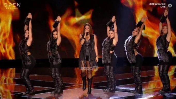 Η Ζωή Μισέλ θύμισε… Σακίρα και προκάλεσε «έκρηξη» στη σκηνή του Χ Factor (videos)