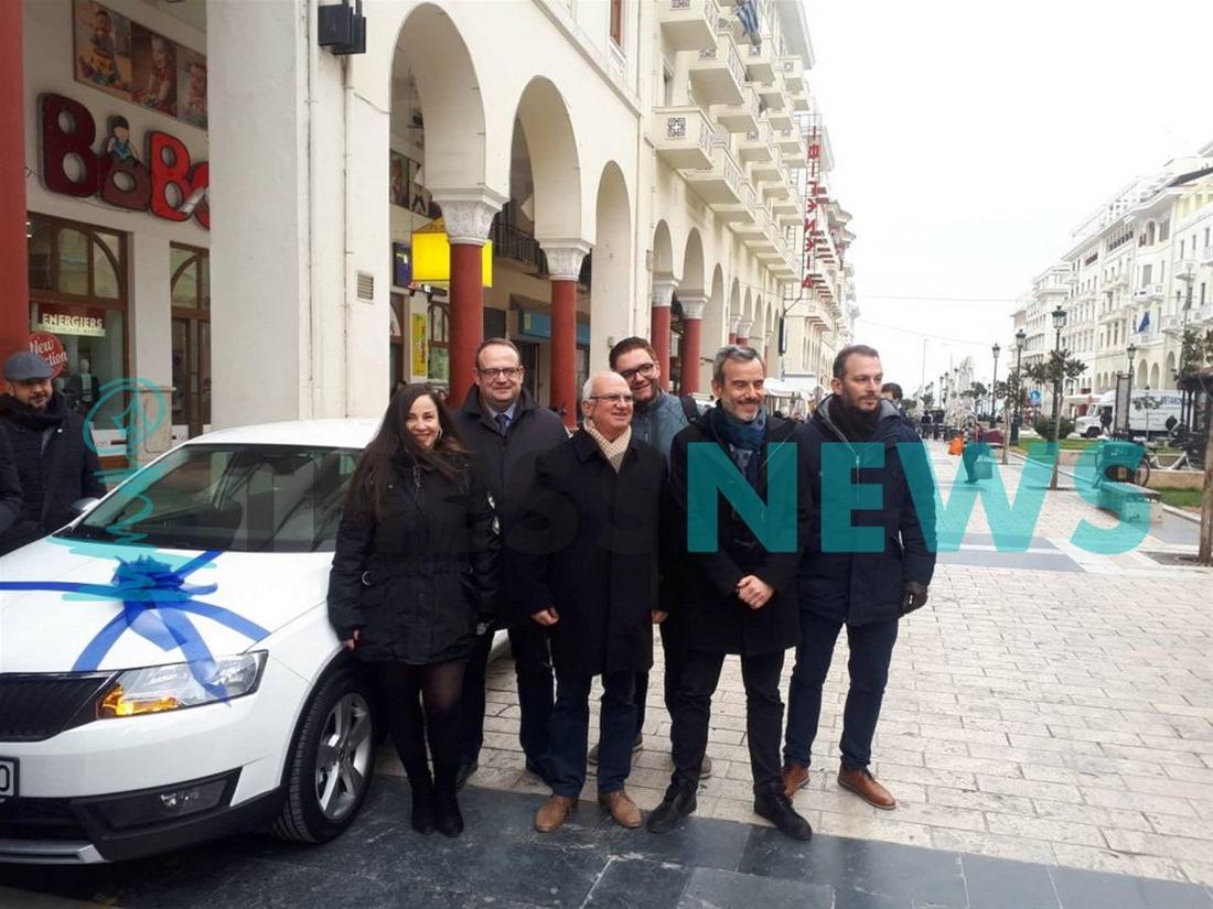 Δωρεά περιπολικού στο Α.Τ Λευκού Πύργου με πρωτοβουλία του Κωνσταντίνου Ζέρβα