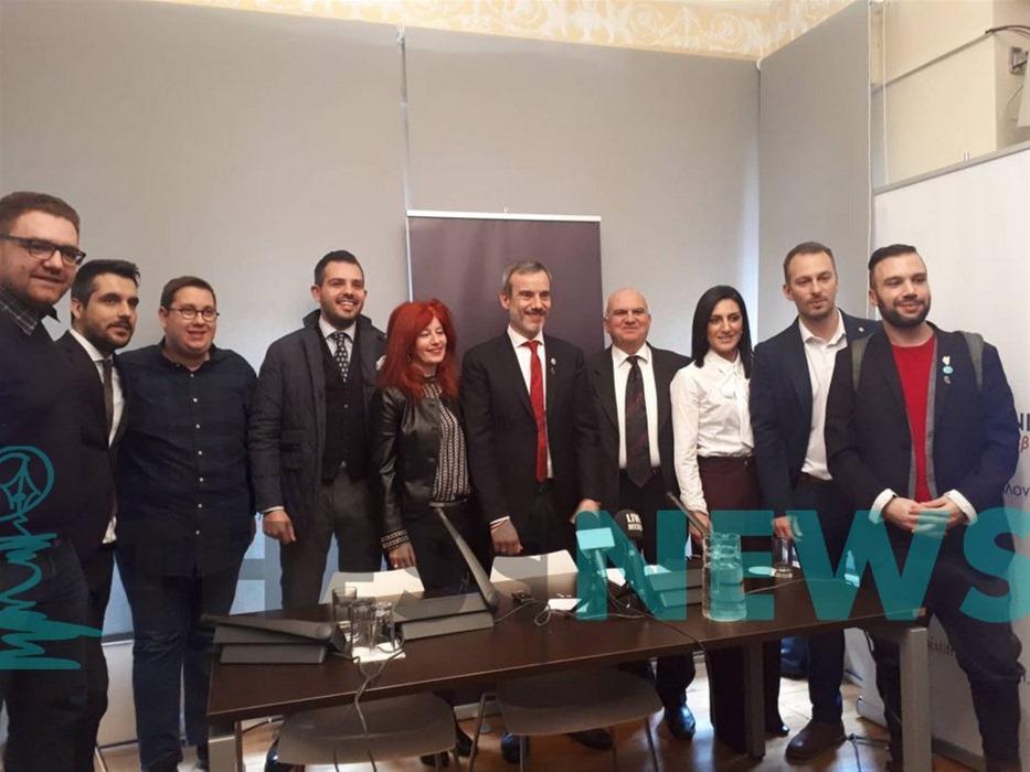 Δέκα νέους υποψηφίους ανακοίνωσε ο Κωνσταντίνος Ζέρβας