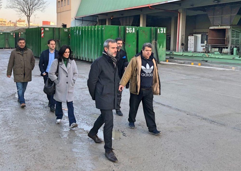 Επίσκεψη Ζέρβα σε Σ.Μ.Α. και Κοινωνικές Δομές του δήμου Θεσσαλονίκης