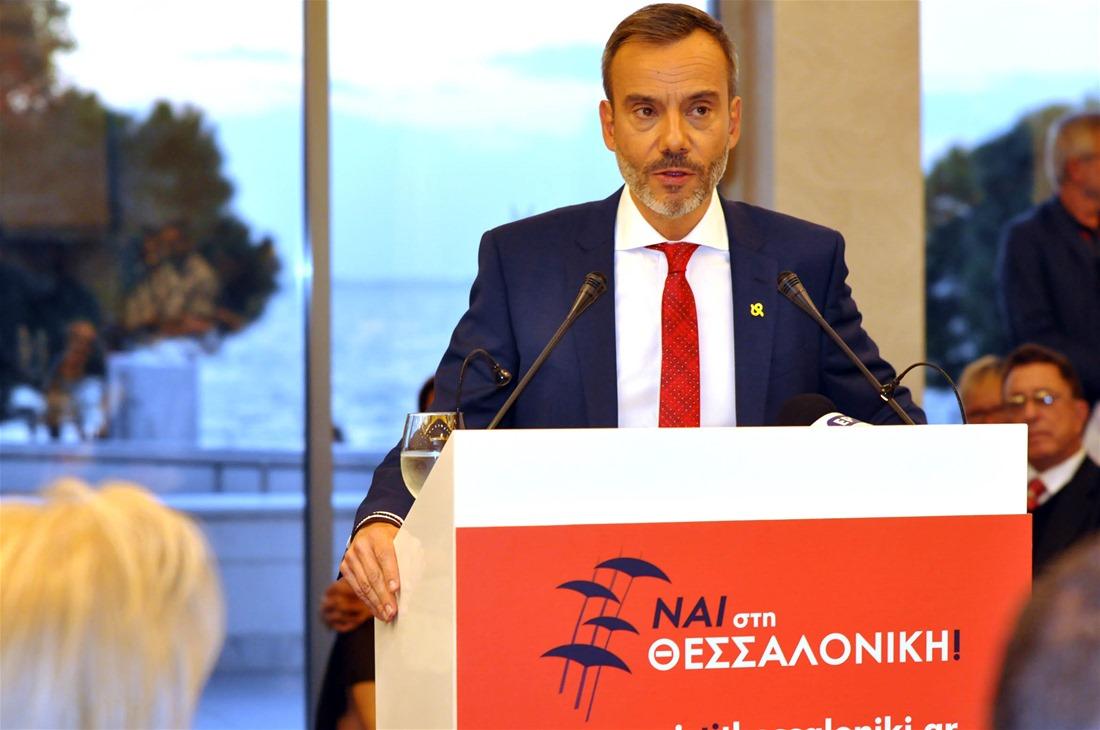 Πρόταση Ζέρβα σε Μπουτάρη για υπηρεσιακή οικουμενική διοίκηση στον δήμο Θεσσαλονίκης