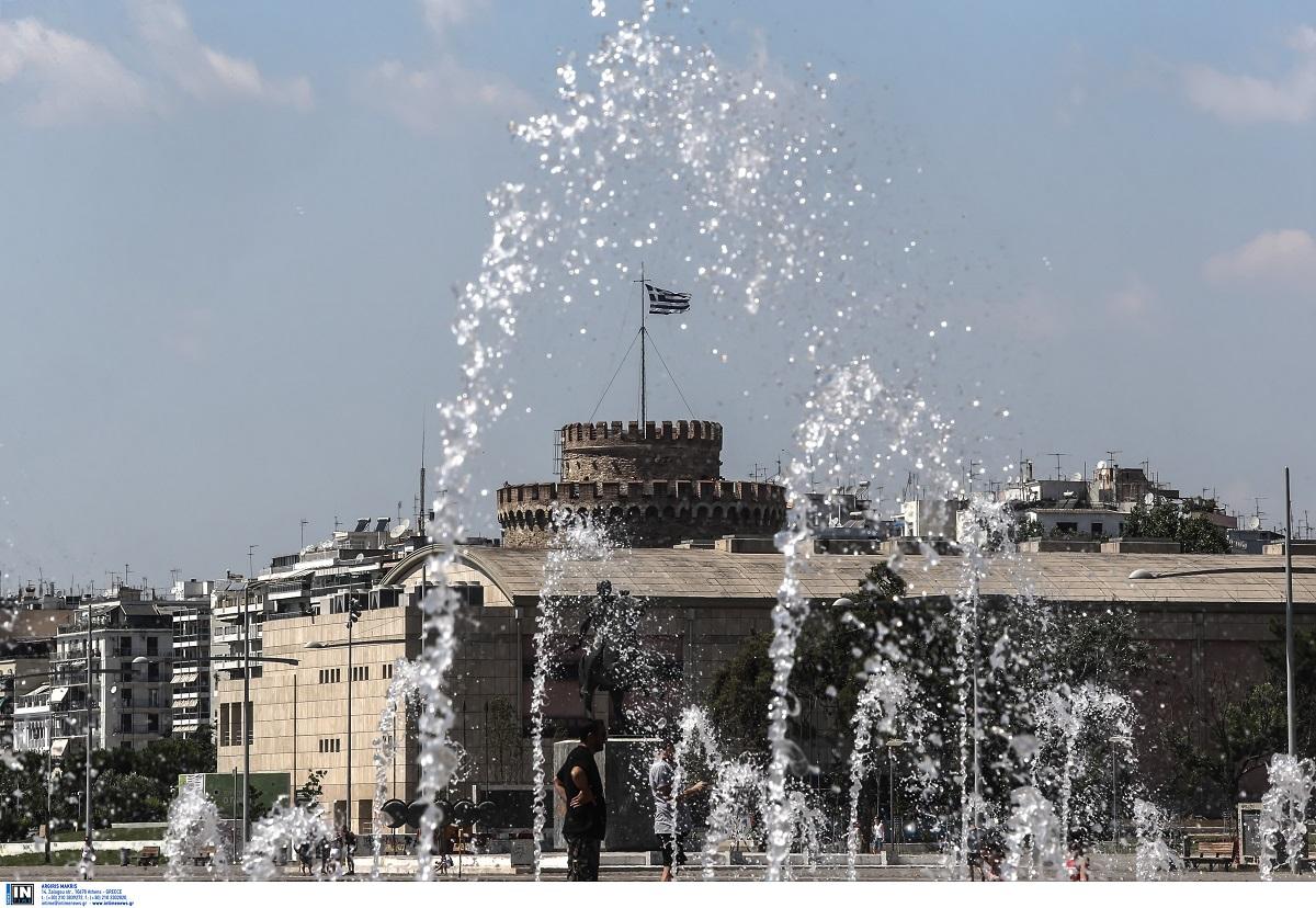 «Καμίνι» η Θεσσαλονίκη – Άνω των 40 βαθμών η θερμοκρασία