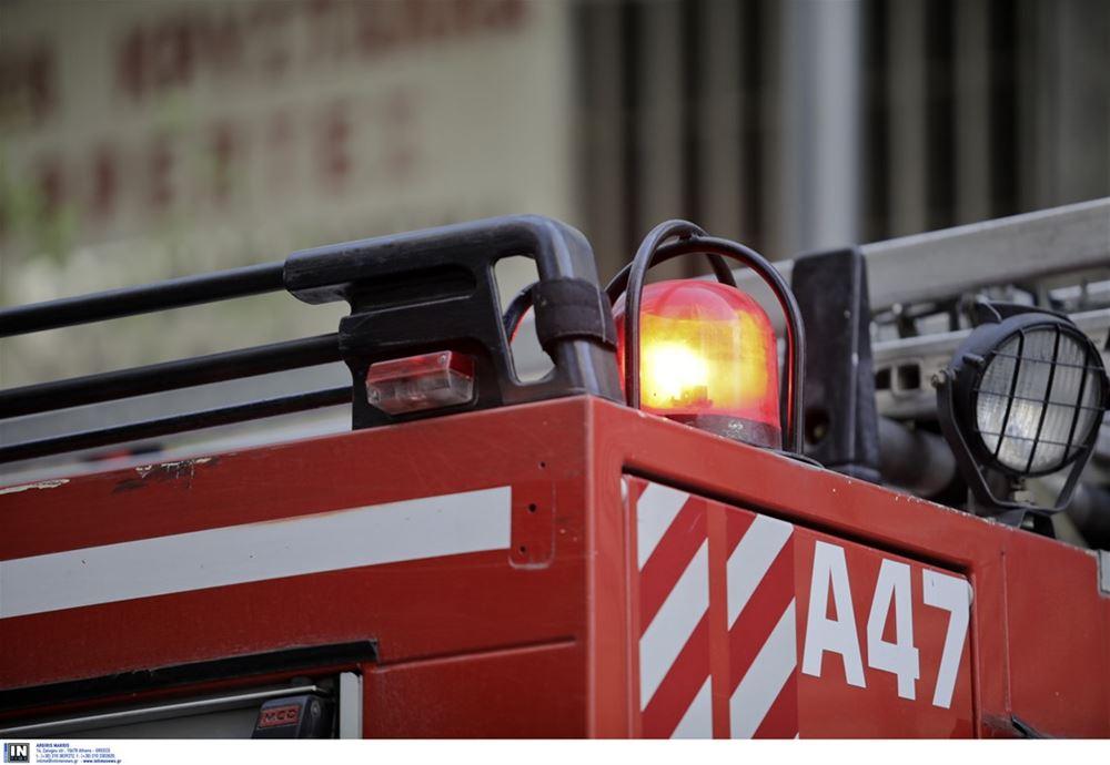 Θεσσαλονίκη: Φωτιά ξέσπασε στη Νέα Απολλωνία