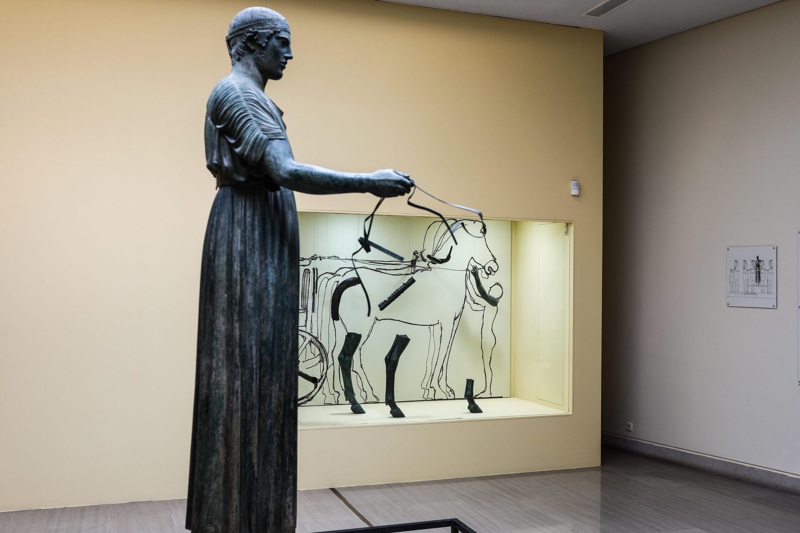 Εικονική επίσκεψη και περιήγηση στο Αρχαιολογικό Μουσείο Δελφών για άτομα με αδυναμία σε κίνηση, ακοή και όραση