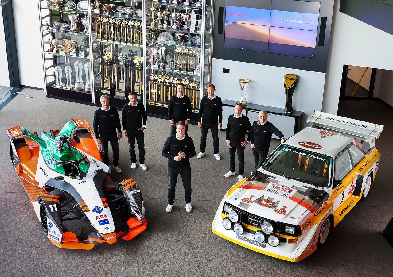 Έτοιμη για ηλεκτρική δράση η Audi Dream Team