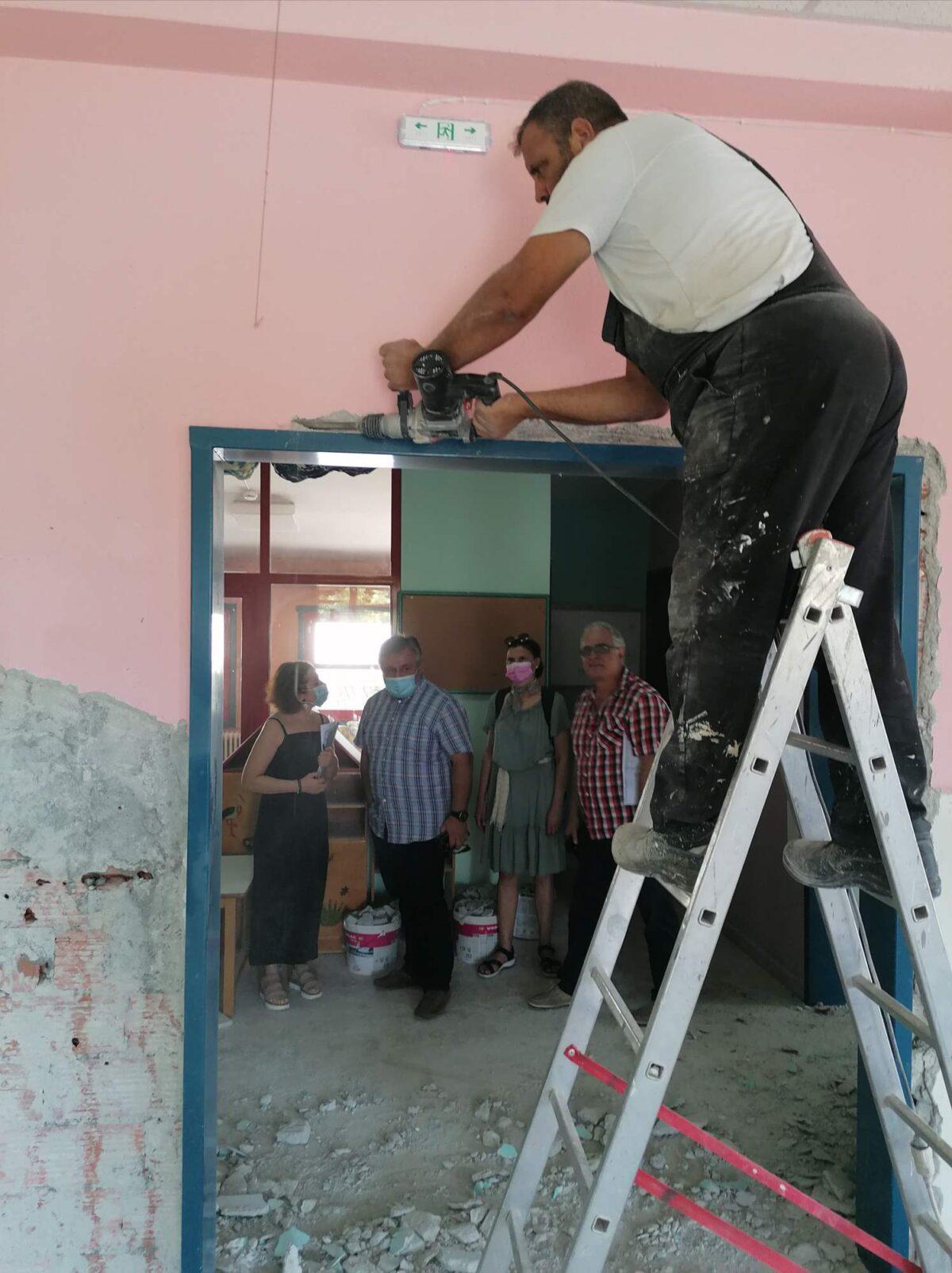 Δ. Ευόσμου – Κορδελιού: Έναρξη εργασιών μετατροπής Παιδικών Σταθμών σε Βρεφονηπιακούς