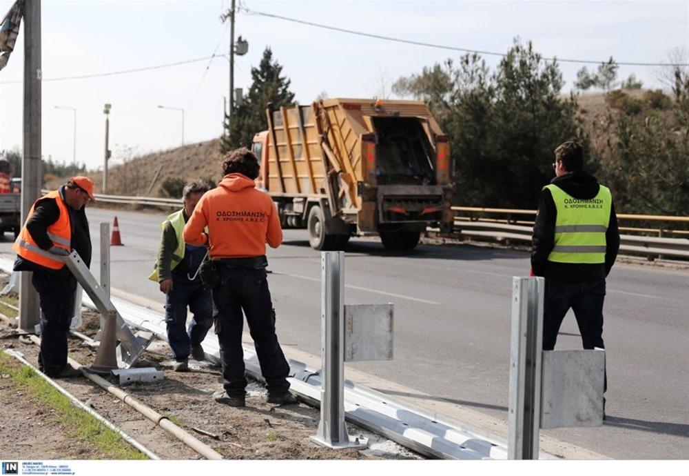 Εθνική Οδό Θεσσαλονίκης -Έδεσσας: Εργασίες κοπής πρασίνου από σήμερα (12/10)