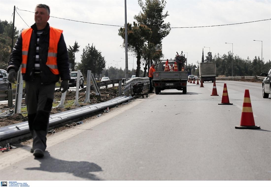 Συνεχίζονται μέχρι και τις 31/10 οι εργασίες κοπής πρασίνου στην Ε.Ο. Θεσσαλονίκης – Μουδανιών