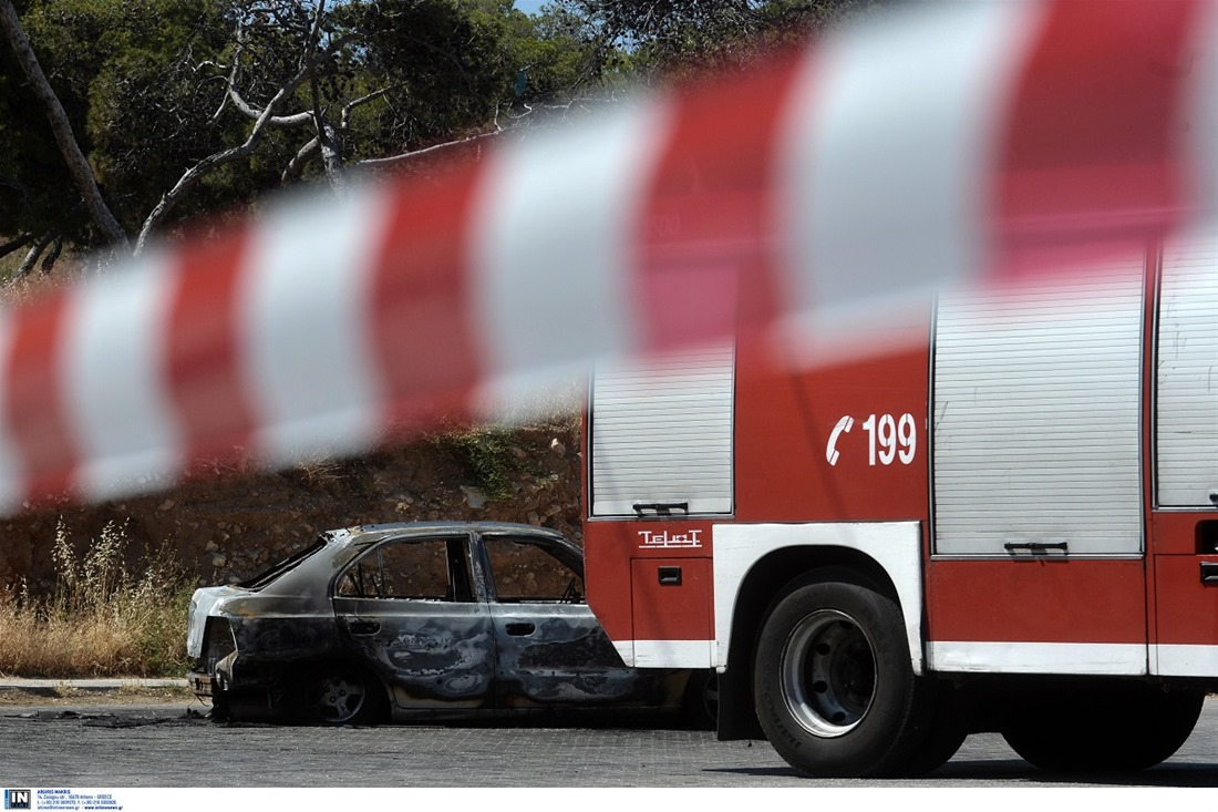 Στις φλόγες Ι.Χ στην Θεσσαλονίκη