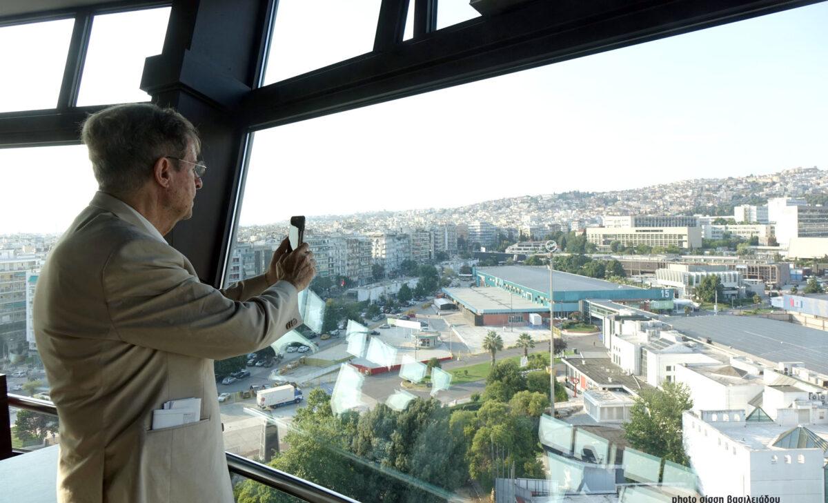 Ανάπλαση ΔΕΘ: Στην Θεσσαλονίκη η Κριτική Επιτροπή για το νέο τοπόσημο της πόλης (ΦΩΤΟ)