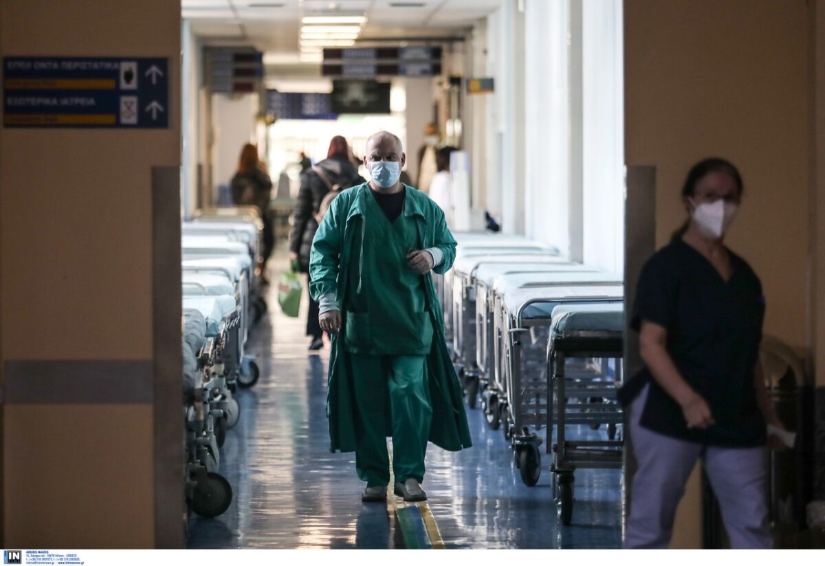 Ανεμβολίαστοι οι περισσότεροι ασθενείς στα νοσοκομεία της Μακεδονίας και της Θράκης