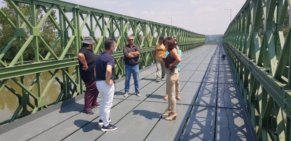 """Πατουλίδου: """"Αυτοψία"""" στη γέφυρα Μπέλεϋ στη Νέα Χαλκηδόνα"""