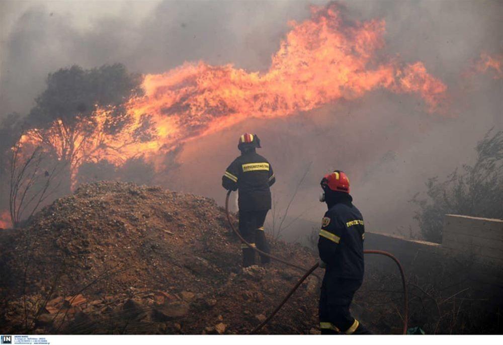 Πολύ υψηλός κίνδυνος πυρκαγιάς σήμερα Τρίτη 7 Σεπτεμβρίου