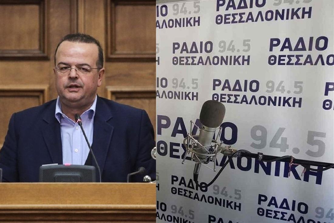 """Α. Τριανταφυλλίδης στο Ράδιο Θεσσαλονίκη: """"Ψεύτης ο Μητσοτάκης – Ανεμβολίαστοι τρεις βουλευτές της ΝΔ"""""""