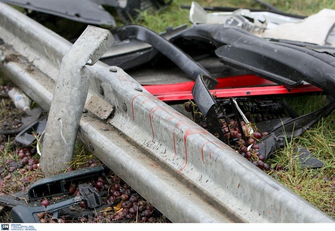 Ατύχημα στον Περιφερειακό – Τούμπαρε αυτοκίνητο στην έξοδο προς Μουδανιών