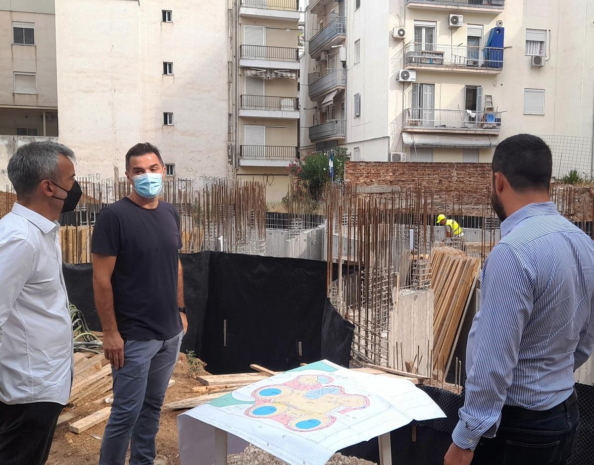 Επιθεώρηση Ζέρβα – Κυριζίδη σε έργα στον δήμο Θεσσαλονίκης