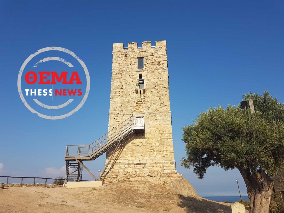 ThessHistory: Ο Βυζαντινός Πύργος της Νέας Φώκαιας και ο ιστορικός λόφος – Μια άγνωστη ιστορία (ΦΩΤΟ-VIDEO)