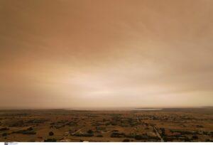 Ατμοσφαιρική ρύπανση από τις φωτιές στην Στερεά Ελλάδα καταφθάνουν στην Κρήτη
