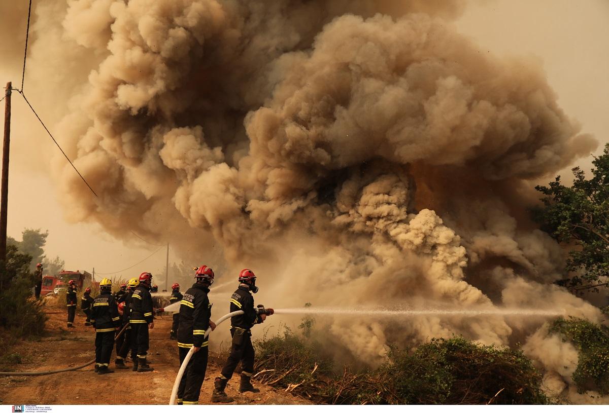 Σε εξέλιξη φωτιά στο Κιλκίς – Επιχειρούν επίγεια και εναέρια μέσα